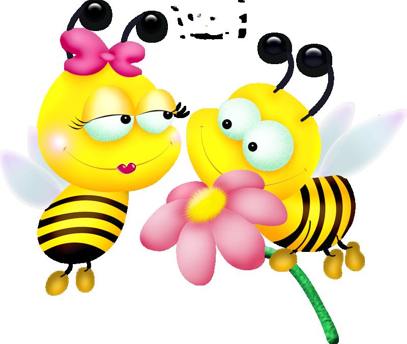 Новогодняя петухом, открытка пчелы